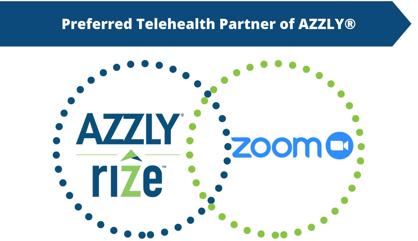 Coronavirus (COVID-19) Shows Us The Importance Of Telehealth. AZZLY® Is Partnering With Zoom® To Give You The Tools To Treat Your Clients Remotely.