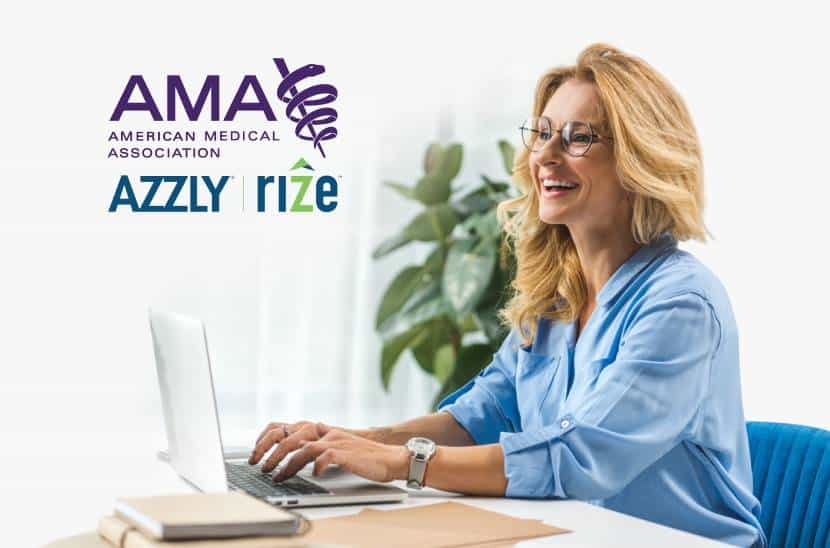 How AZZLY® Rize™ Fulfills The AMA's 8 EHR Usability Principles